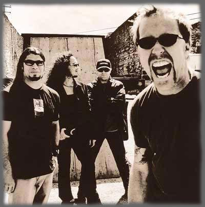 Enter to Metallica homepage